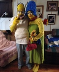 Homer and Marge Simpson Costume