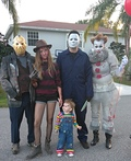 Horror Movie Characters Costume