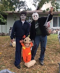 Horror Movies Family Costume