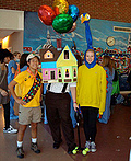 House Carl Fredricksen From Pixar's Up Costume