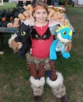 Astrid from How To Train Your Dragon 2 Costume