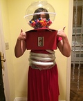 Human Gumball Machine Costume