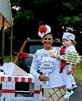Ice Scream Family Costume