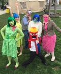Inside Out Costume