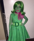 Disgust Inside Out Costume