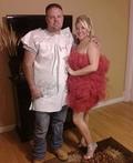 Ivory Soap and Loofah Costume
