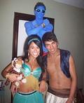 Aladdin, Jasmine & Genie Costume