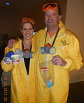 Jesse Pinkman and Walter White Costume
