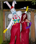 Jessica and Roger Rabbit Costume