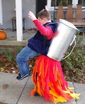 Jet Pack Boy Costume