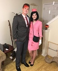 JFK and Jackie O. Costume