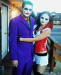 Joker and his sidekick Harley Quinn Costume