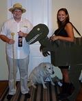 Jurassic Park - Dr. Hammond & Raptor Costume