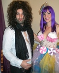 Katy Perry and Russell Brand Costume