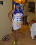 Katy Perry & Dots Candy Costume