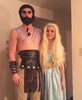 Khal Drogo and Daenerys Targaryen Costume