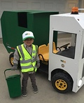 Garbage Truck Driver Costume