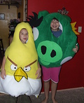 King Pig and the Angry Yellow Bird Costume