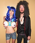 Katy Perry & Russell Brand Costume