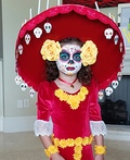 La Muerte Day of the Dead Costume