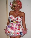 Lady Gaga Hello Kitty Costume