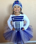 Lady R2D2 Costume