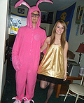 Leg Lamp & Pink Nightmare Costume