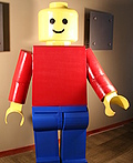 Classic Lego Man Costume
