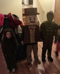 Lego Indiana Jones Costume