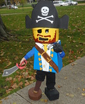 Lego Mini Figure Pirate Costume