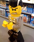 "Lego Minifigure ""Bad Guy"" Costume"