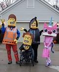 Lego Movie Family Costume
