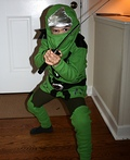 Lego Ninjago Green Ninja Costume