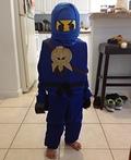 Lego Ninjago Jay Costume