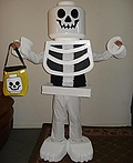Lego Skeleton Boy Costume