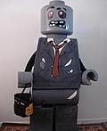 Lego Zombie Man Costume