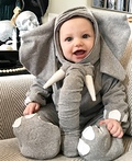Liam the Elephant Costume