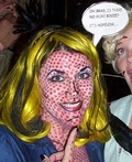 Lichtenstein Pop Art Lady Costume