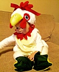Lil' Chicken Costume