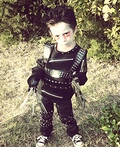 Lil Edward Scissorhands Costume