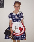 Lil Lucille Ball Costume
