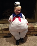 Lil' Marshmallow Man Costume