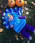 Lil Sweet Peacock Costume