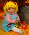 Little Cabbage Patch Doll Costume