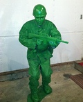 Little Green Army Soldier Costume