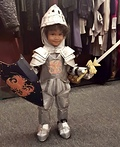 Little Knight in Shining Armor Costume