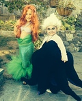 Little Mermaid and Ursula Costume