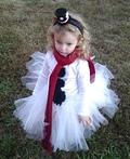 Little Miss Snow Girl Costume