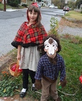 Little Red Riding and Werewolf Costume