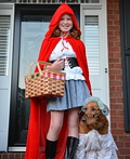 Little Red Riding Hood and Grandmother Costume